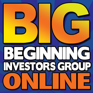 Beginning Investors Group Online @ Register Online https://bigo.co/