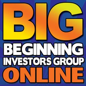 Beginning Investors Group Online @ Register Online http://bigo.co/